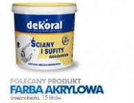 Castorama - akrylová barva - 15 litr  -  69,- Zl