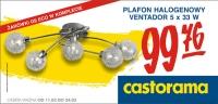 Polecany produkt w ofercie od 11.03: Plafon halogenowy Ventador
