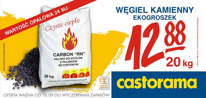 Polecany Produkt Od 10 09 Wegiel Kamienny Ekogroszek Castorama Cesky Tesin Tesininfo Cz