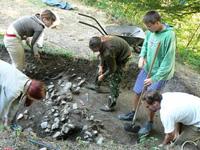 Archeologicke vykopavky